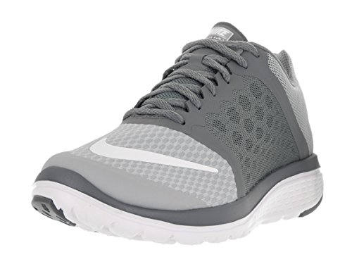 Nike Fs Lite Run 3, Chaussures de Running Compétition Homme, Taille Multicolore - Gris / Blanco (Wolf Grey/White-Cool Grey)