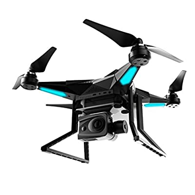 HUHU833 iDrones2 GPS 2.4Ghz 6900mAh/30min FLYING 5.8GHz WiFi Drone w/4K Camera RTF (Black) from HUHU833