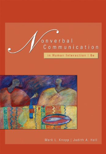 Nonverbal Communication in Human Interaction por Judith Hall