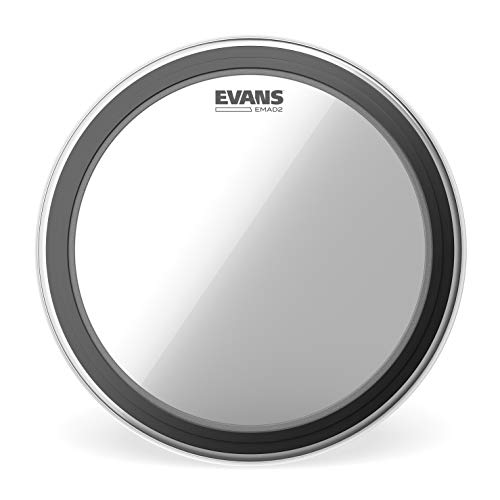 Evans BD22EMAD2 Bassdrumfell 55,8 cm (22 Zoll) doppellagig (innen: 0,254mm, außen: 0,178mm)