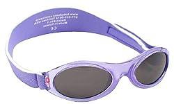 KidzBanz Unisex - Baby Sonnenbrille ABBLV-Lavender Tulip, Gr. one size (2-5 Jahre), Rosa (Spring Flowers)