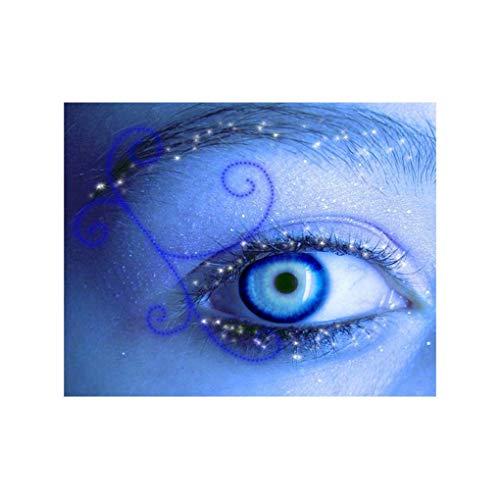 Demino Peacock Owl Augen-Baum-5D Strass Stickerei-Kreuz-Stich Tierkristall Malerei Needlework DIY Kunst Diamond Pictures Augen 30 * 25cm