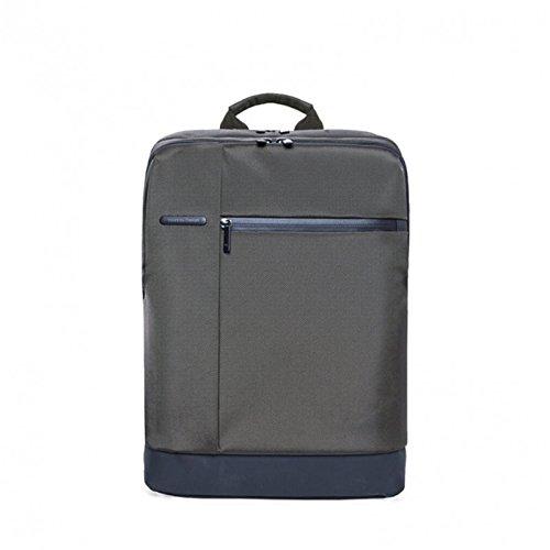 Original XIAOMI Laptop 15,6mochila resistente al agua tres capa Super Gran espacio de Independencia de hängigen cremallera de cuadrado gris gris