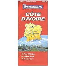 Côte d'Ivoire : 1/800 000