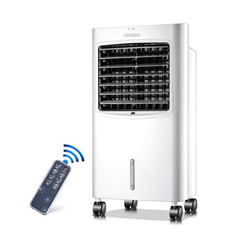 RJLI Mobile Klimageräte Ventilator+Luftbefeuchter+Luftkühler,mit Fernbedienung,3 Geschwindigkeiten, 7 Liter Wassertank, 7.5 Stunden Zeitmessung,für Home Office Draussen