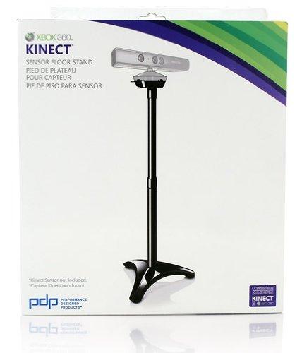 PDP Xbox 360 Kinect Floor Stand - cajas de video juegos y accesorios (Negro) Black
