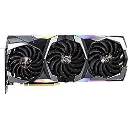 MSI GeForce RTX 2080 GAMING X TRIO - Tarjeta gráfica Enthusiast (PCI-E 3.0, Zero FROZR, Torx FAN 3.0, 8 GB GDDR6, 256-bit, 7000 Mhz Memory Clock Speed, MSI Afterburner)
