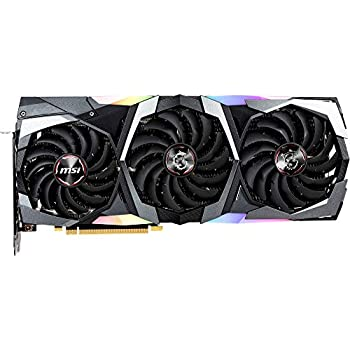 MSI GeForce RTX 2080 GAMING X TRIO - Tarjeta gráfica Enthusiast (PCI-E 3.0, Zero FROZR, Torx FAN 3.0, 8 GB GDDR6, 256-bit, 7000 Mhz Memory Clock ...