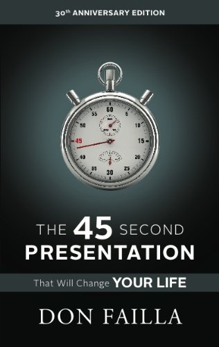 The 45 Second Presentation That Will Change Your Life: Understanding Network Marketing (English Edition)