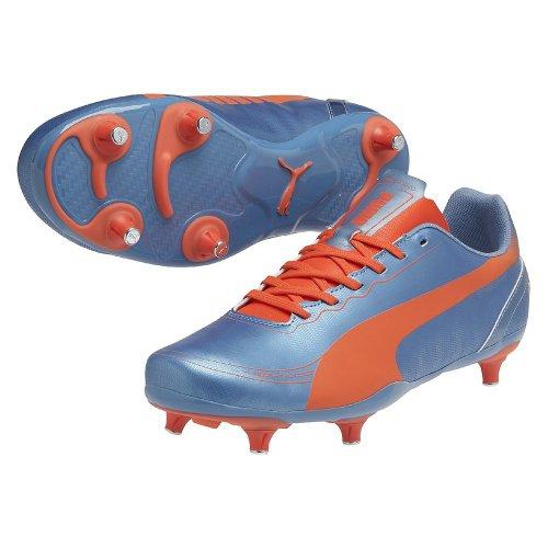 Evospeed 5.2 SG - Chaussures de Foot Bleu Requin/Pêche blue