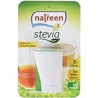 Natreen Edulcorante Comprimidos Miniwave Dispensador Stevia - 120 Unidades