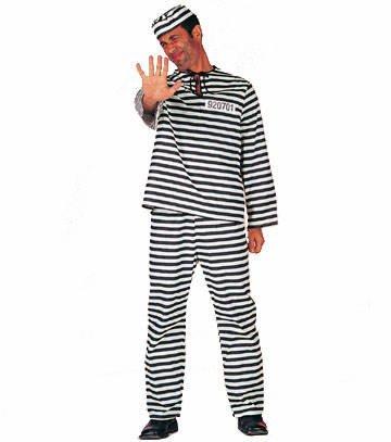 Wilbers Federbein Herren EU 56/UK und US 46Gefangene (Lady Kostüme Adult Gefangene)
