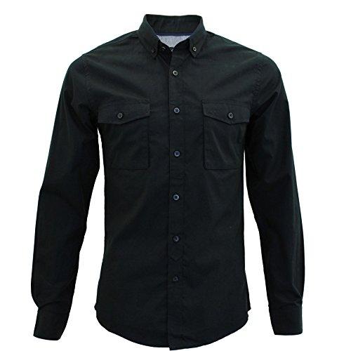 Threadbare - Chemise casual - Homme Noir