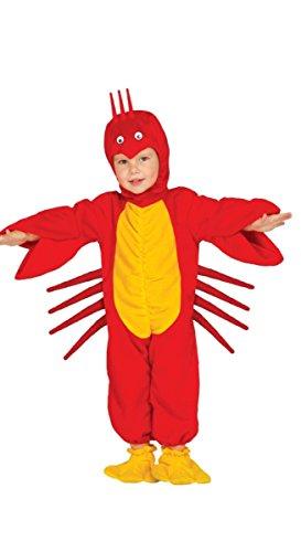 Baby Hummer - Kostüm für Kinder Gr. 86-98, Größe:86/92 (Hummer Kostüm Kinder)