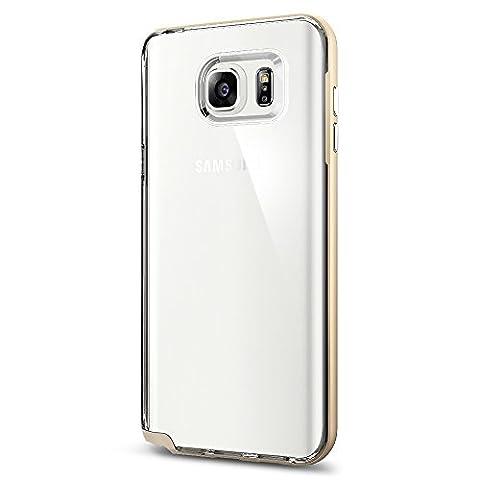 Spigen Schutzhülle für Samsung Galaxy Note 5 NEO HYBRID CRYSTAL - durchsichtiges Case+ 2-facher Bumper (TPU + Polykarbonat) für Samsung Galaxy Note 5 - Tasche in Champagne gold [Champagne Gold -