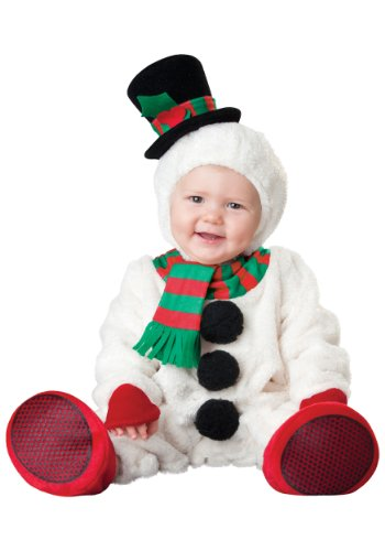ASVP Shop NEW BABY Jungen Mädchen Kleinkinder Animal Halloween Xmas Party Kostüm Jumpsuit Gr. 6-12 Monate, schneemann (Baby Und Kinder Schneemann Kostüme)