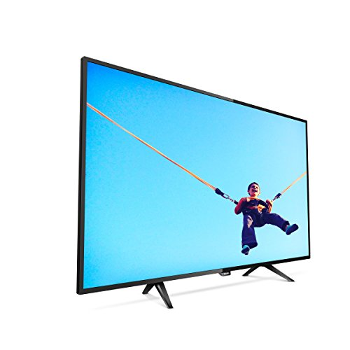 Philips 43PFT5302/12 - Televisor Smart TV de 43 pulgadas (LED, Full HD, ultraplana, A++), negro