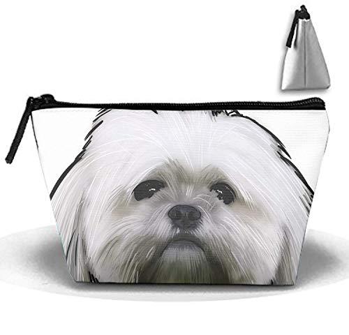 Borsa da viaggio per bambini con borsa da viaggio multifunzionale stampata da viaggio per cani di Yorkie