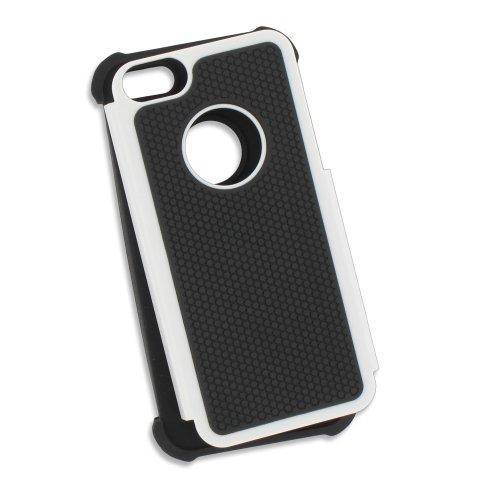 Bumper APPLE IPHONE 5S / IPHONE SE [Le Bumper Colors Premium] [Rosa] von Muzzano + UltraClear Pack 3Display Schutzfolie Transparent mit Stylus/Reinigungstuch für - Das ULTIMATIVE, ELEGANTE UND LANGLE Weiß