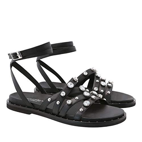 Sandal Reiko, 35, Black Jewel Strap Sandal