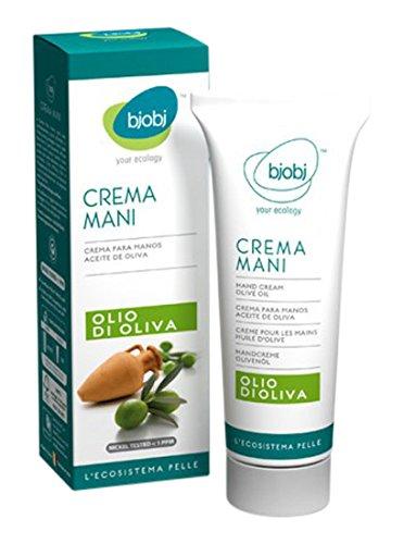 Bjobj Crema Mani Olio d'Oliva, 100 grammi