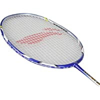 Li Ning Badminton Racket Player Edition Light Weight Carbon Graphite Shaft 80+ Gms with Full Carrying Bag Cover (90 II)