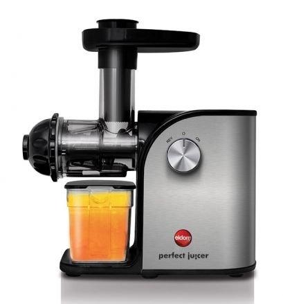 Eldom - Exprimidor de zumos de baja velocidad pj200, muy eficaz, con potencia de solo 200w