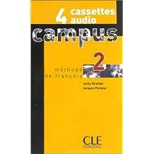 Campus méthode de français, 2 (4 cassettes inclus)