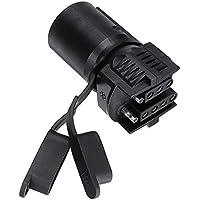 YSSP 7 Remolque Pin 12V Coche Adaptador de Enchufe del Remolque Conector de América del zócalo del estándar de Doble hilera de Enchufe for Remolque RV Accesorios yate
