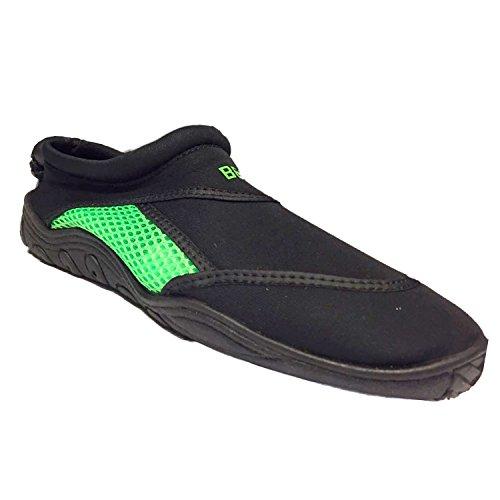 Beco Surf und Badeschuhe Schuhe, grün/Schwarz, 45
