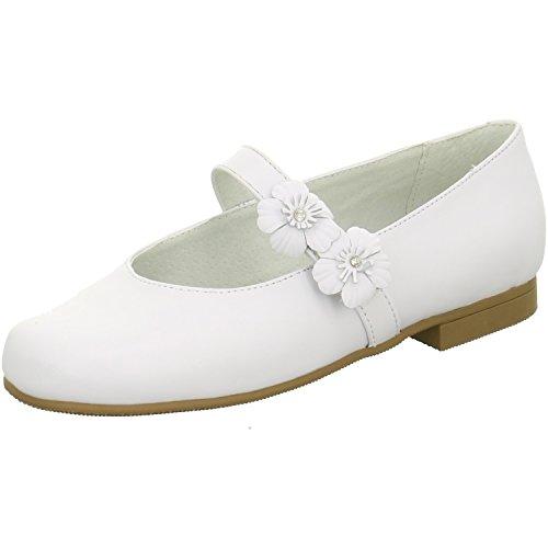 Mädchen 1 Größe Schuhe Skechers (Skechers weiss Nappaleder Größe 34 Weiß (weiß))