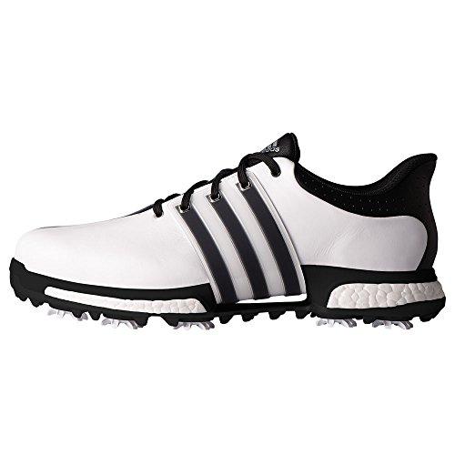adidas Herren Tour 360 Boost Golfschuhe, Weiß (White/Core Black/Core Black), 44 EU