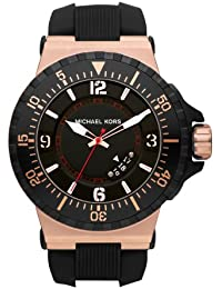 Micheal Kors Herren-Armbanduhr XL Analog Quarz Edelstahl MK7062