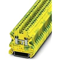 Phoenix Contact 3044128montaje en carril DIN Bloque de terminales, 2formas, 26AWG, 10AWG, 6mm²