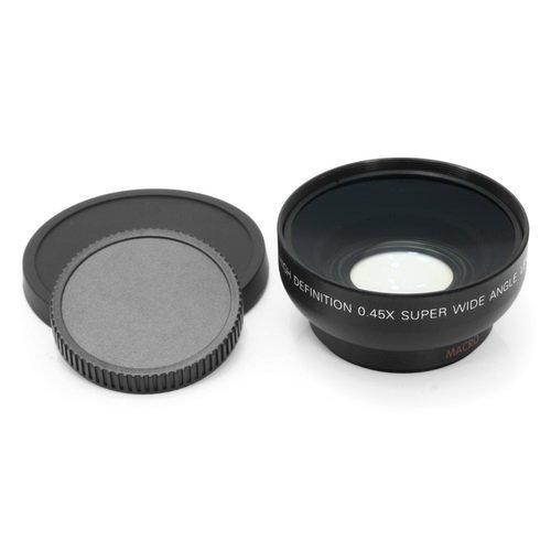 FOTGA 46mm 0.45x Weitwinkel + Macro Conversion Lens Fuer alle Kameras und Camcorder mit 46mm Groe?e Objektiv-Filtergewinde