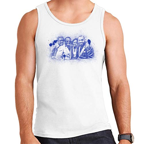TV Times Gladys Knight and The Pips 1980 Paint Splatter Men's Vest