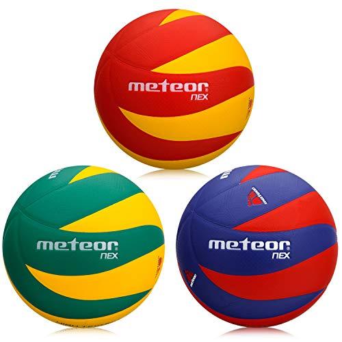 meteor Nex Volleybälle (Gelb & Rot)