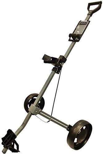 Glide-Tek Unisex glide-tek22Rädern Aluminium Golf Trolley, Gunmetal/Schwarz Preisvergleich