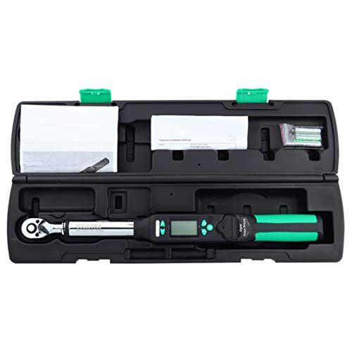 Hiod chiave dinamometrica digitale - 3 modalità di misura, 4 unità di coppia, chiave a cricchetto bidirezionale ad alta precisione,3/8-inch-drive(3-60nm)