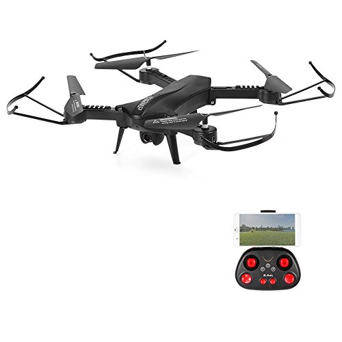 POBO RC Drone Foldable WiFi FPV VR Quadcopter With 2MP HD Camera 24Ghz 6 Axis Gyro 4CH Remote Control Helicopter From