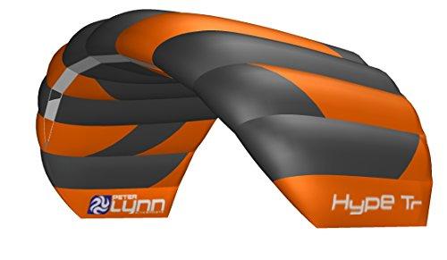 Lenkmatte Trainerkite Lenkdrachen Peter Lynn Hype Trainer 1.9 Complete mit Control Bar und Safety Leash 2-Line Powerkite Stranddrachen