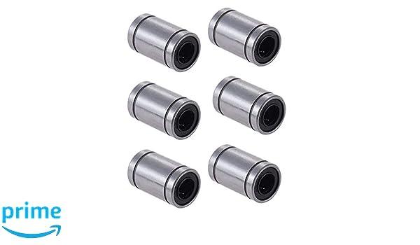 8mm x 15mm x 24mm RepRap Prusa Mendel DIY CNC Bewegung ARCELI 12 St/ücke LM8UU Linearlager f/ür 3D Drucker Prusa Mendel Reprap