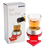 Best Tailgate Games - CONNECTWIDE® Spin-the-Shot-Glass Drinking Game Set, Spin the Shot Review