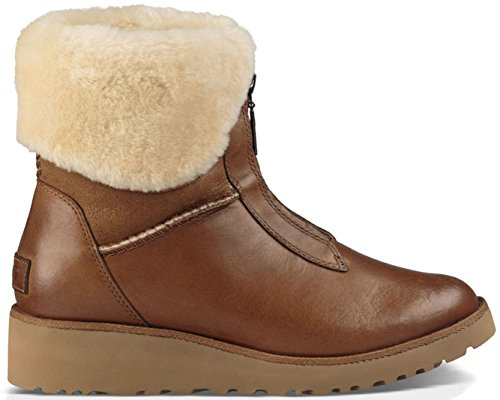 Ugg Australia Women's Caleigh Women's Leather Boots In Chestnut