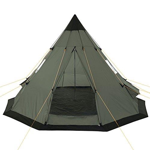 Zoom IMG-2 campfeuer tenda teepee 365 x