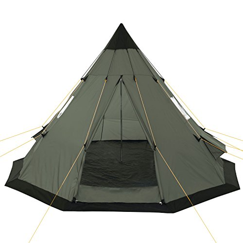 Zoom IMG-2 campfeuer tenda tipi teepee 365