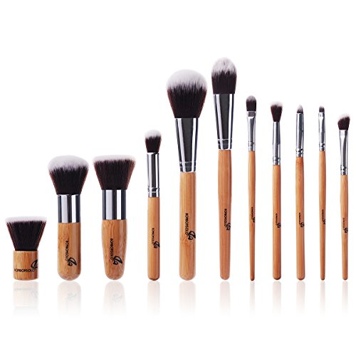 Makeup Bürsten Make-Up Pinsel Kabuki Foundation Pinsel Schminkpinsel Kosmetikpinsel Ideal für Cremige...