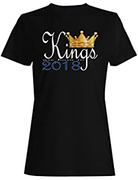 Rey nace en 2018 camiseta de las mujeres b954f