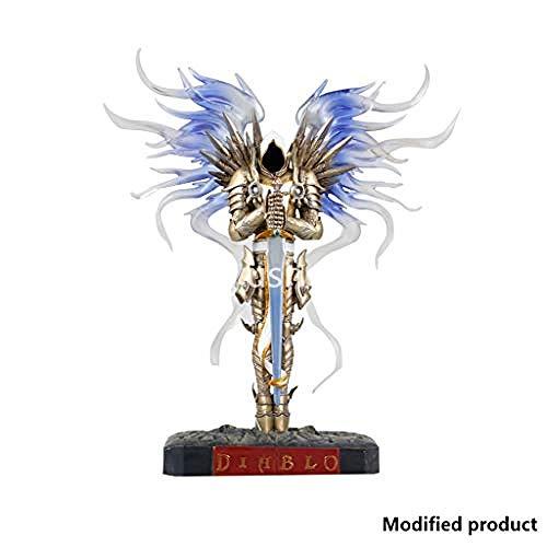 ASDCXZ Diablo 3 Tirael-Statue Seraphim Engel, dunkel, 25,4 cm hoch -