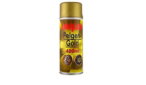 Felgengold 1 Spraydose 400ml Felgenlack Für Autolack Lackierer Made In Germany Auto